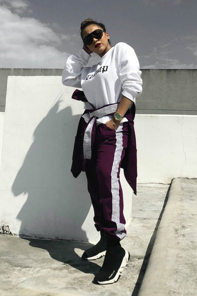 POP OUT REFLECTIVE SWEATPANTS