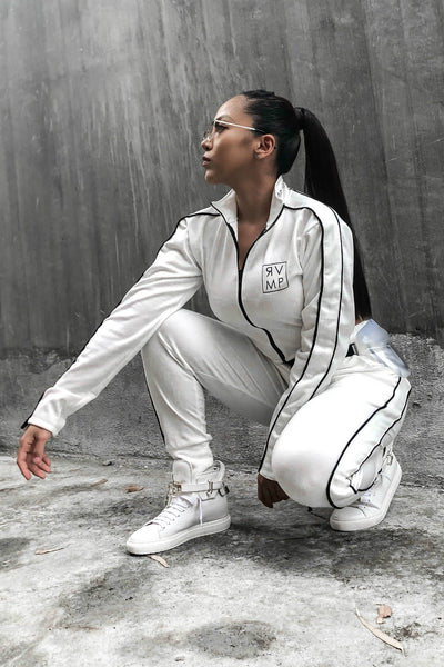 EVOLVING SWEATPANTS WHITE