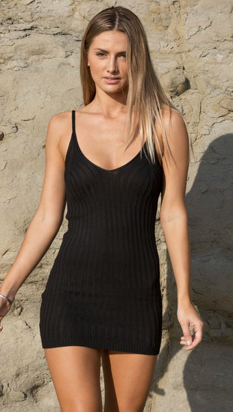 BABE TOWN DRESS BLACK