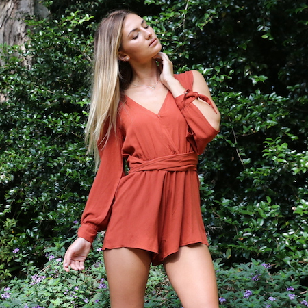 SAHARA PLAYSUIT