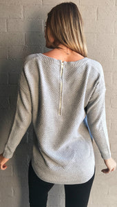 COZY FOR DAYS JUMPER GREY