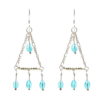 Hazel Daze Chandelier Earrings A Hint of Flair