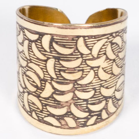 Golden Finger Cuff