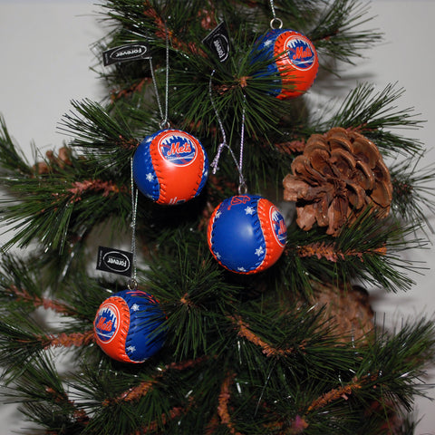 "Baseball Ornament ""Mets"""