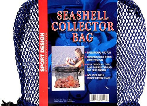 Seashell Collector Mesh Bag