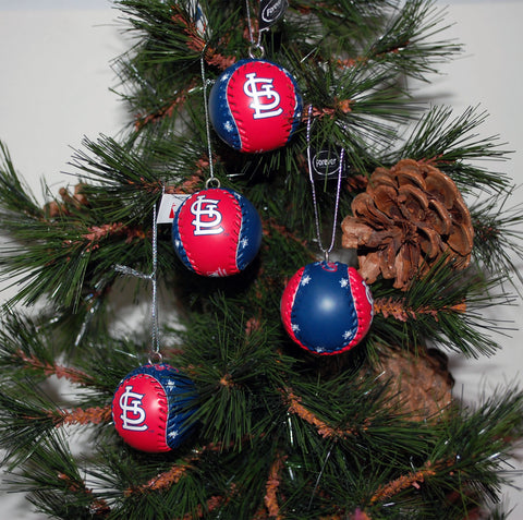 "Baseball Ornament ""St. Louis"""