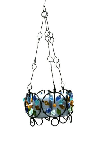 Recycled Glass Kaleidoscope Chandelier
