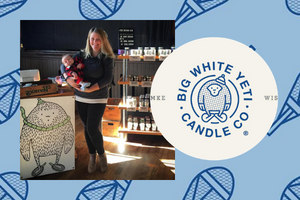 The People Behind Our Products: Big White Yeti Candle Company