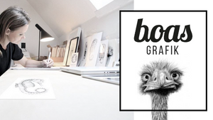 The People Behind Our Products: Boas Grafik Whimsical Illustrations