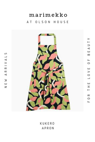 Marimekko Kukero Apron For Sale at Olson House