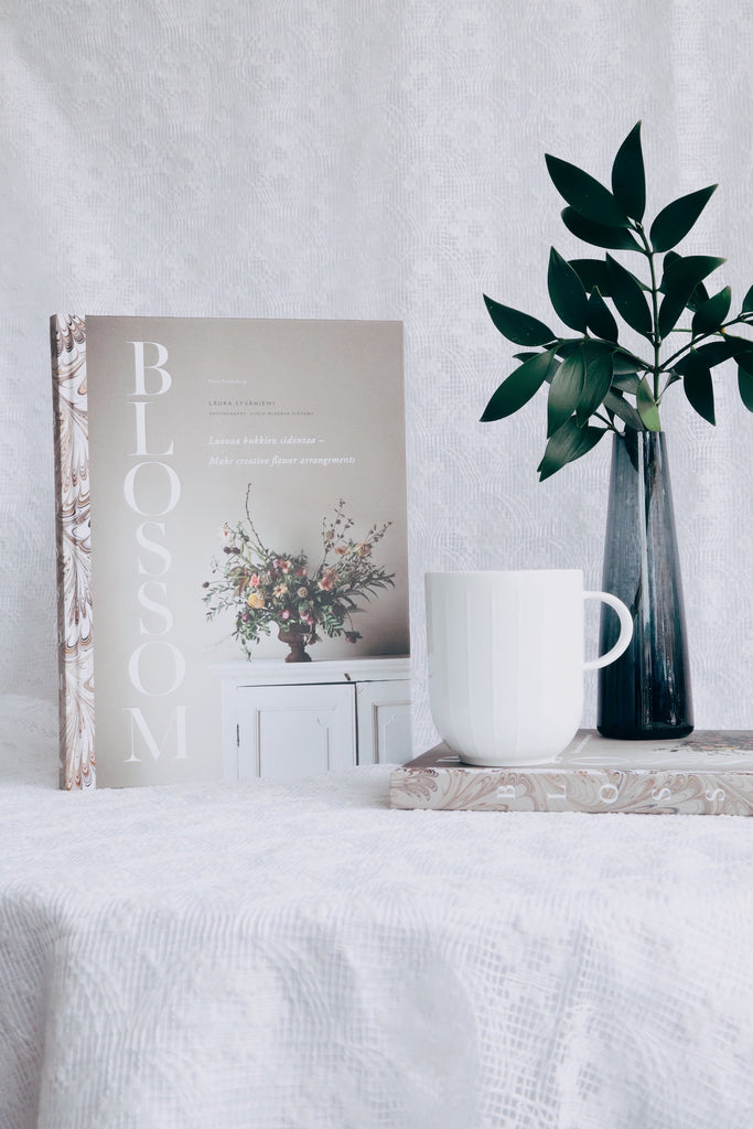 Blossom Book and Normann Copenhagen Mug Gift Idea