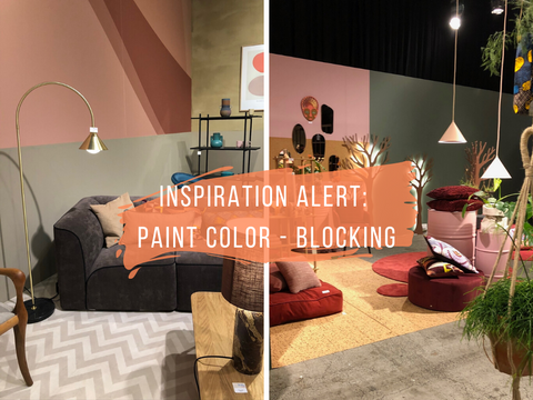 Inspiration from Formland Copenhagen Paint Color-Blocking