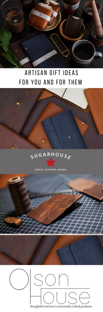 Artisan Gift Ideas from Sugarhouse Leather Goods