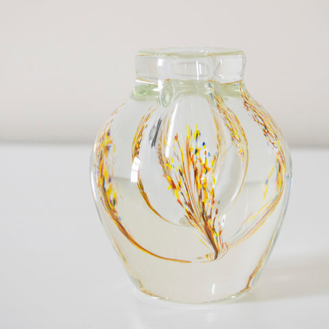 Dominic Labino Studio Glass Vase