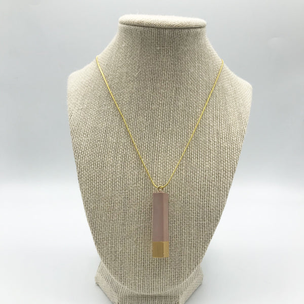 Intentional Grain Concrete Necklaces