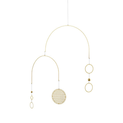 Normann Copenhagen Circa Brass Mobile