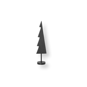 Winterland Black Brass Tree Solid