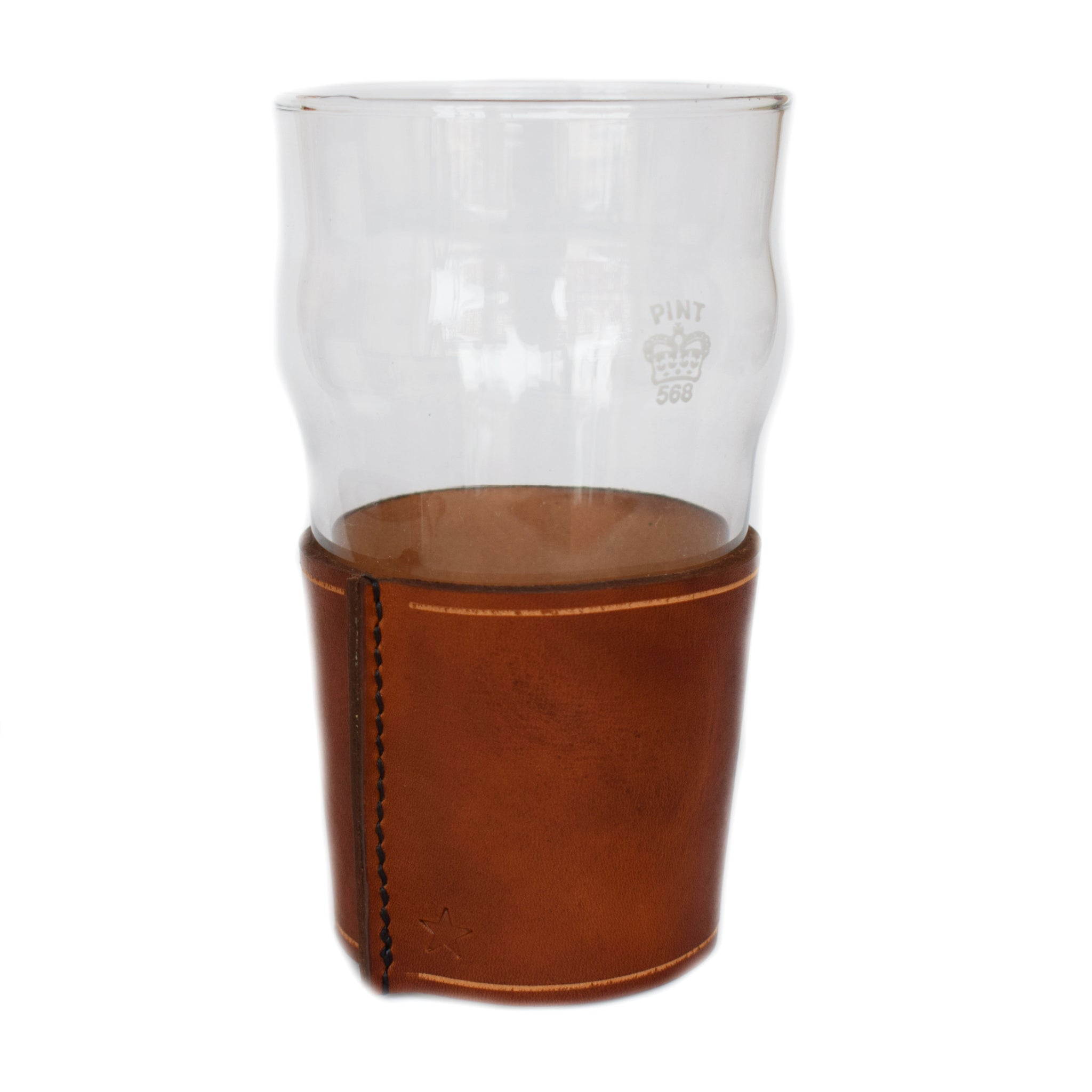 Sugarhouse Leather Imperial Pint Glass