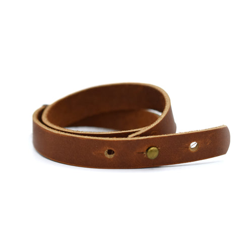 Sugarhouse Leather Double Wrap Wrist Cuff