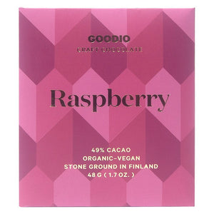 Goodio Raspberry Craft Chocolate