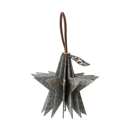 Oohh Collection Eco-Felt Star Ornament
