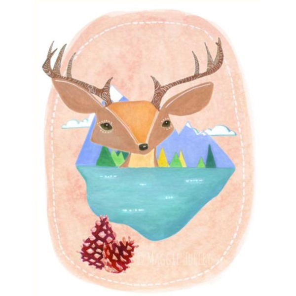 Maggie Hurley Art Prints - Flora and Fauna