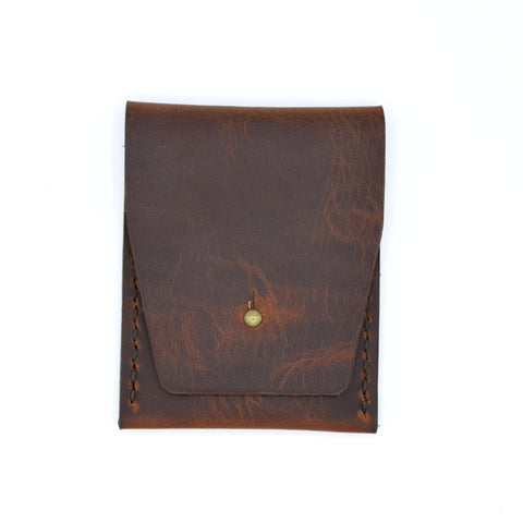 Sugarhouse Leather Vertical Business Card Wallet