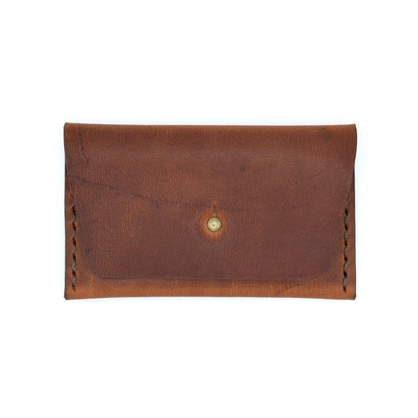 Sugarhouse Leather Horizontal Business Card Wallet