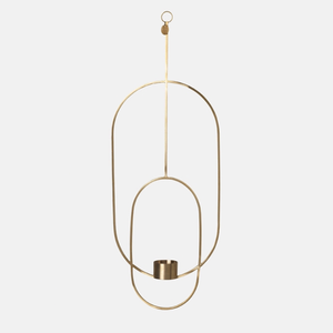 Ferm Living Hanging Tealight Deco Oval