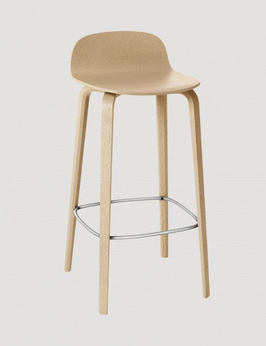 Muuto Visu Low Natural Barstool