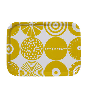 Bengt & Lotta Candy Small Tray, Yellow