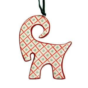 Ceramic Jul Bok Ornament