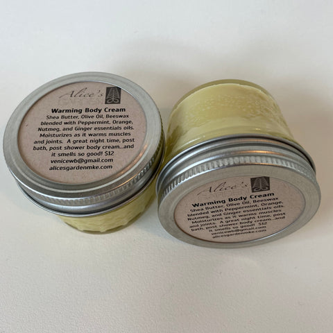 Alice's Garden Warming Body Cream