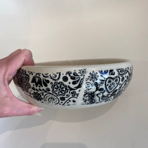 Melissa Muller Designs Scandinavian Serving Bowl