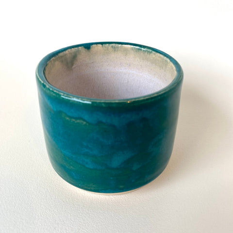 Melissa Muller Designs Teal Architectural Tumblers