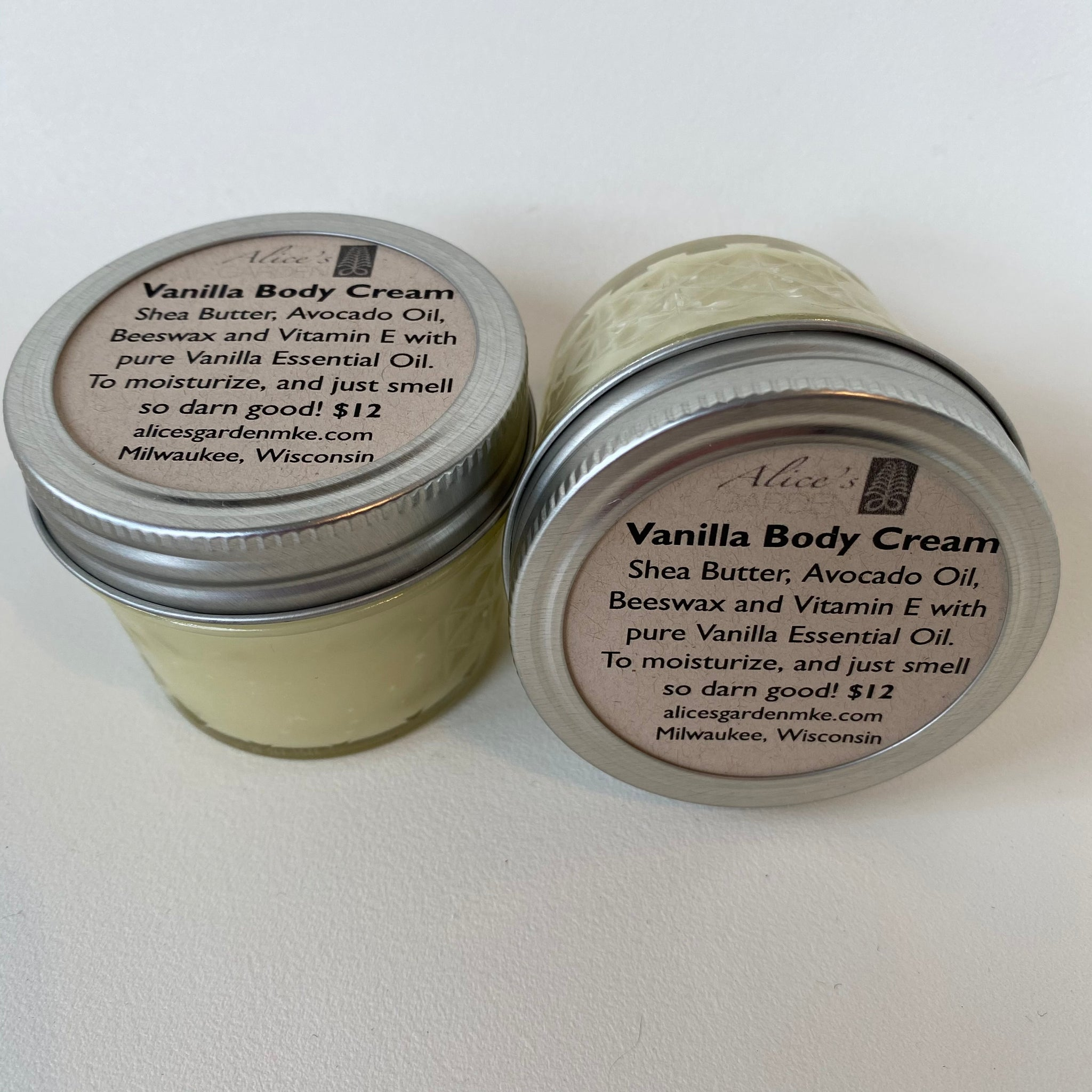 Alice's Garden Vanilla Body Cream