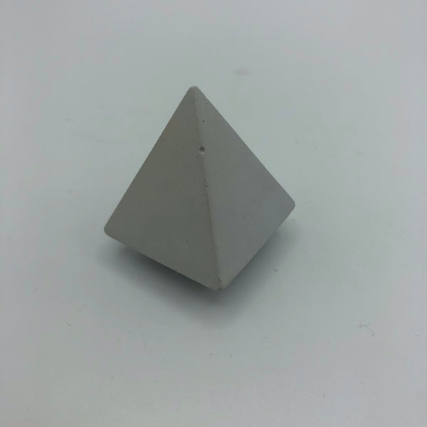 Intentional Grain Concrete Pyramid Ring Cones