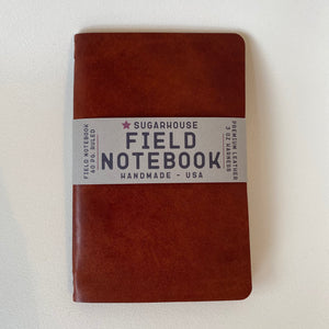 Sugarhouse Leather Field Notebook