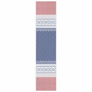 Ekelund Marius Table Runner, Red/Blue