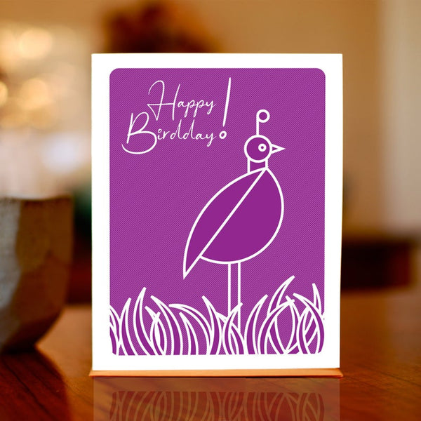 Man vs. George Designs Greeting Cards