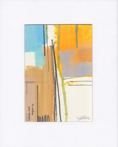Dave Watkins Abstract Studies - 5x7 Framed