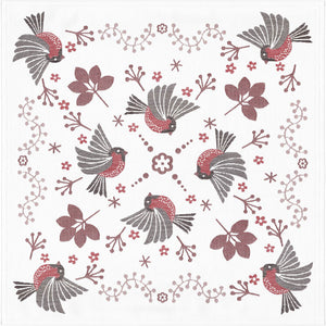 Ekelund Winter Birds Table Square