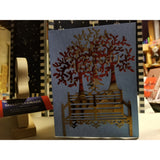 A Walk In The Park Handmade Good Greeting Supply Card  💋
