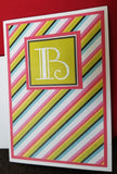 B Stands For Handmade Good Greeting Supply Card CLEARANCE