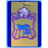 Bird On Perch (v) Handmade Good Greeting Supply Card - Cards And Other Paper Products - Made In U.S.A. - SharPharMade - 1