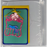 Bird On A Perch Handmade Good Greeting Supply Card GRN - Cards And Other Paper Products - Made In U.S.A. - SharPharMade - 5