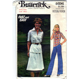 Butterick 4696 Pattern Vintage Women Top, Skirt And Pants
