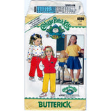 Butterick 6590 Pattern Vintage Children Vest, Top, Skirt And Pants