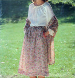 Butterick See And Sew 5999 Pattern Vintage Misses Blouse, Skirt and Stole