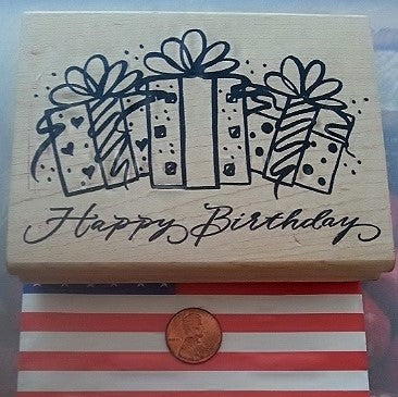 Denami Design Rubber Stamp Gift Large